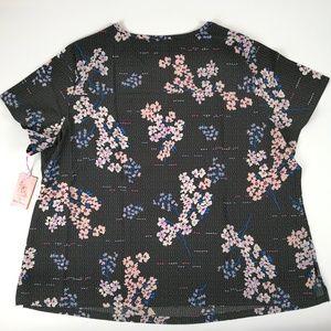 koi Tops - Koi Scrub Top 3XL 352PR-FRT Floral